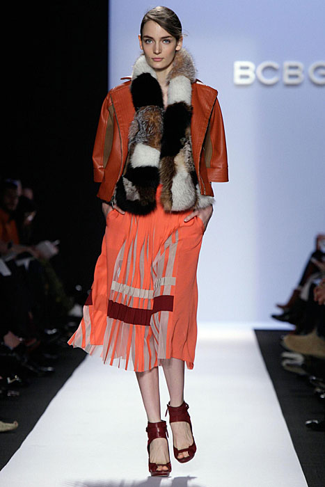 BCBG Max Azria -  giacca arancione