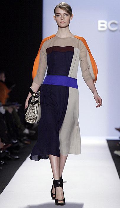 BCBG Max Azria - abito lungo con tacchi
