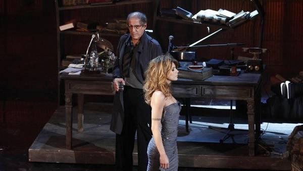 Sanremo 2012 Adriano Celentano Elisabetta Canalis