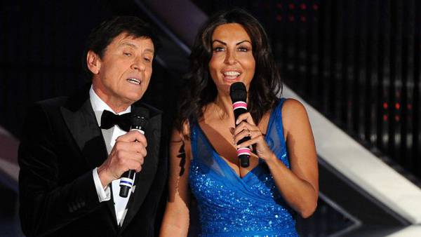 Gianni Morandi e Sabrina Ferilli