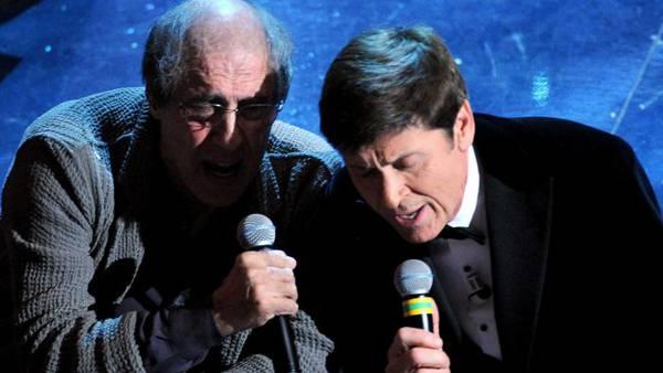 Adriano Celentano e Gianni Morandi