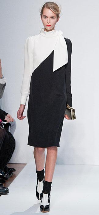 Mila Schon 2012 2013 - scarpe bianche e nere