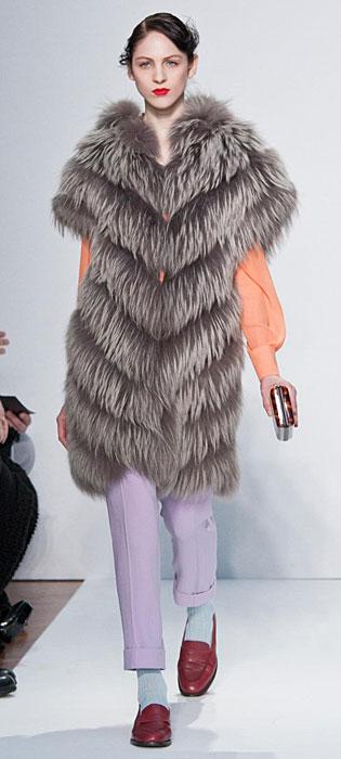 Mila Schon 2012 2013 - cappotto piume