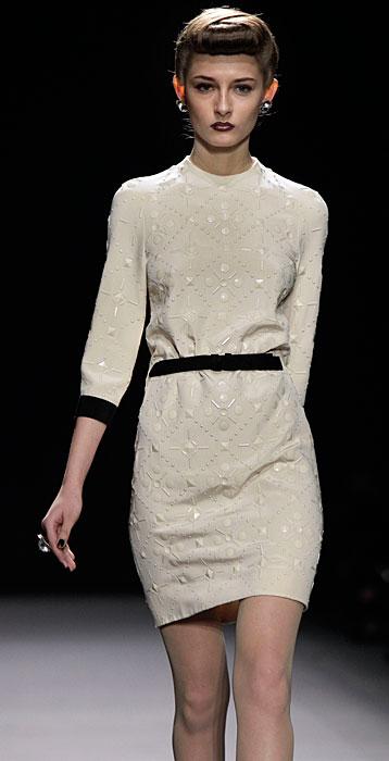 Jenny Packham - abito con cinta nera in vita