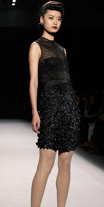 Jenny Packham - mini abito con pailletes