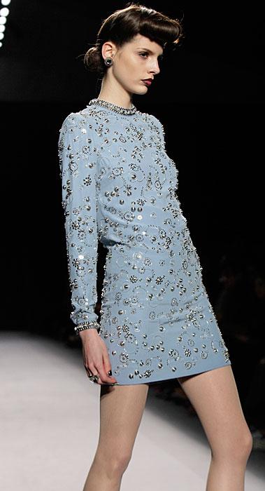 Jenny Packham - mini abito azzurro