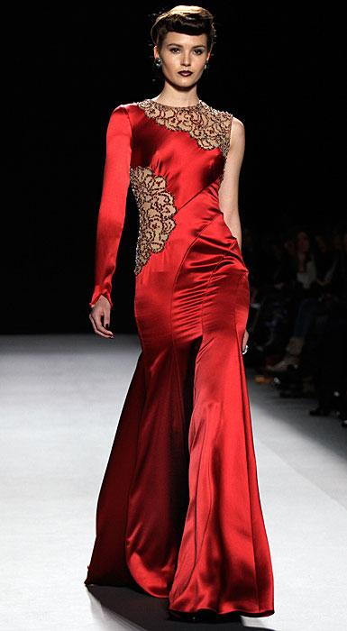 Jenny Packham - abito da sera rosso