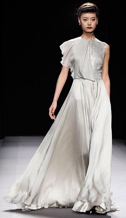 Jenny Packham - abito da sera argento