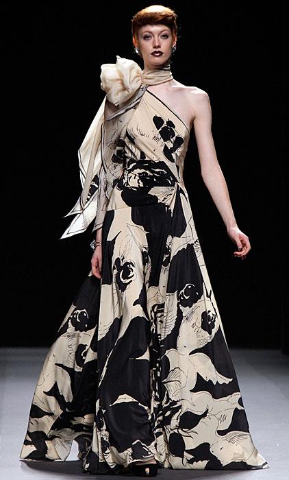 Jenny Packham - abito lungo con gonna ampia