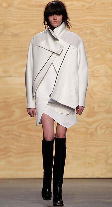 Proenza Schouler - cappotto bianca