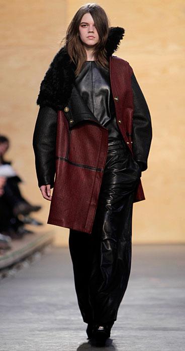 Proenza Schouler - cappotto con pelliccia
