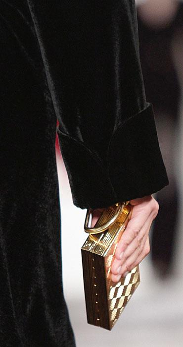 Ralph Lauren - pochette dorata