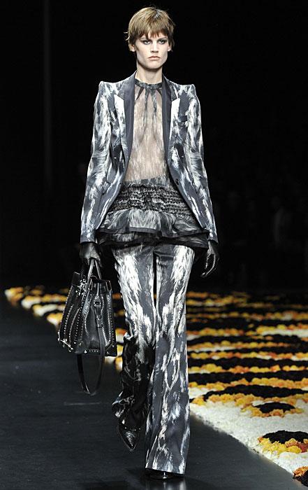 Roberto Cavalli 2012 2013 Completo Pantaloni Maglia Nude Look