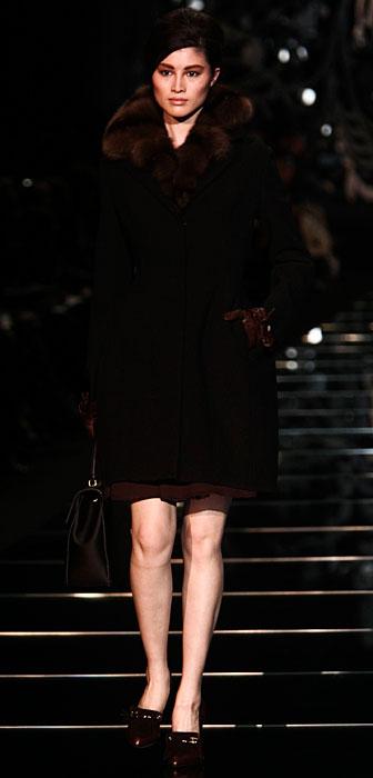 Ermanno Scervino 2012 2013 - cappotto con pelliccia
