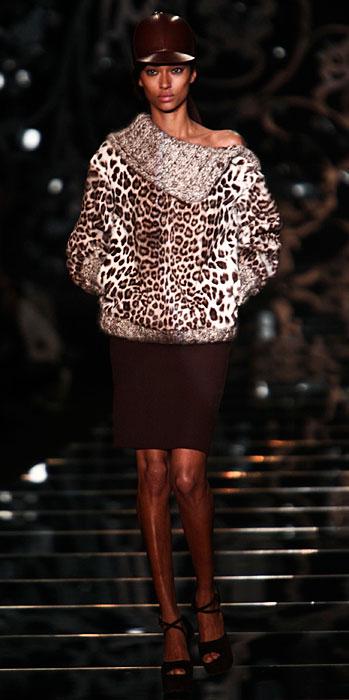 Ermanno Scervino 2012 2013 - maglia leopardata