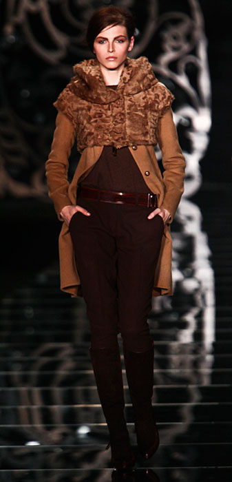 Ermanno Scervino 2012 2013 - cappotto con coprispalla