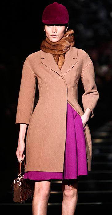 Ermanno Scervino 2012 2013 - cappotto rosa confetto