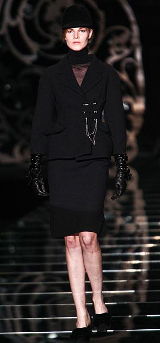 Ermanno Scervino 2012 2013 - tailleur nero