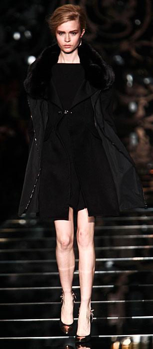 Ermanno Scervino 2012 2013 - cappotto nero