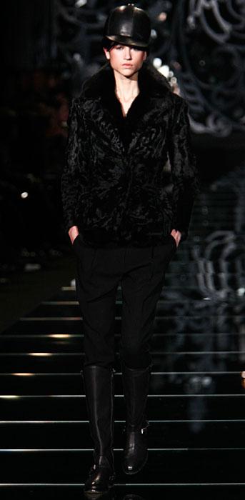Ermanno Scervino 2012 2013 - giacca corta nera