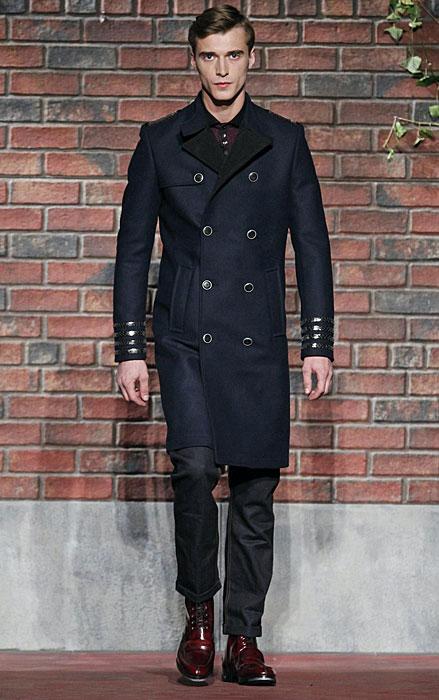 Tommy Hilfiger - cappotto doppio petto blu