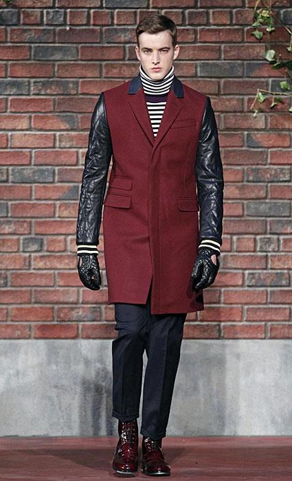Tommy Hilfiger - cappotto con maniche nere