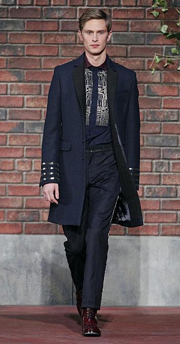 Tommy Hilfiger - cappotto e pantalone blu