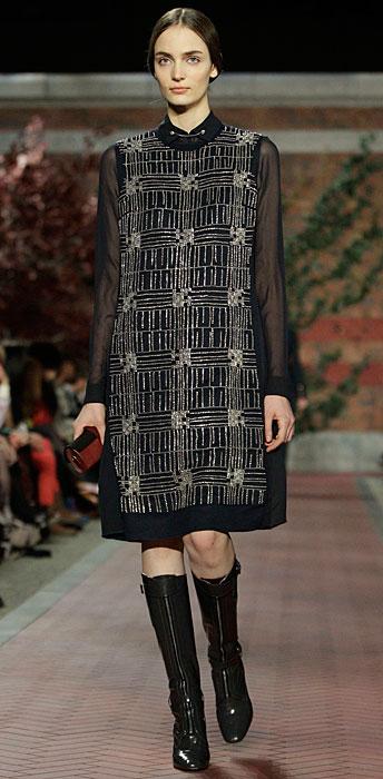 Tommy Hilfiger Donna -  abito nero con maniche velate