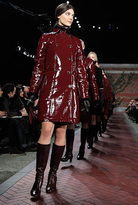 Tommy Hilfiger Donna - cappotti lucidi rossi