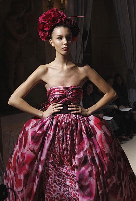 Giambattista Valli sfilate Haute Couture 2012