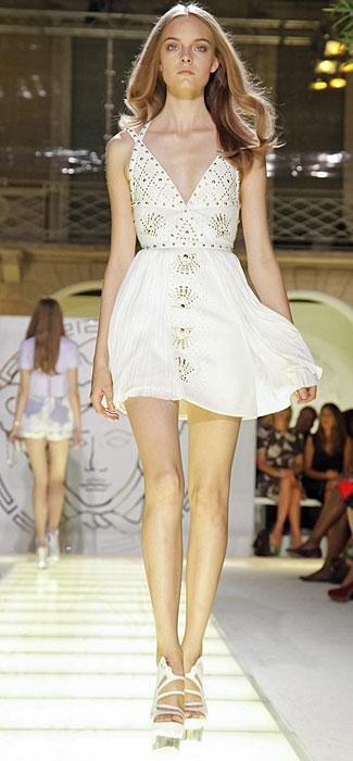 Versace - mini abito con scollo a V