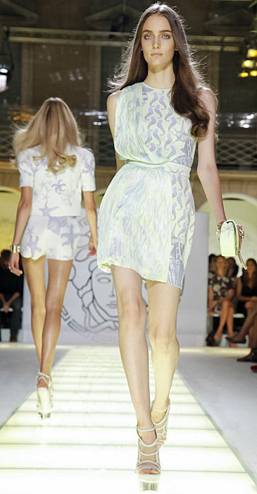 Versace - abito corto senza maniche