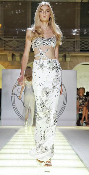 Versace - gonna lunga bianca