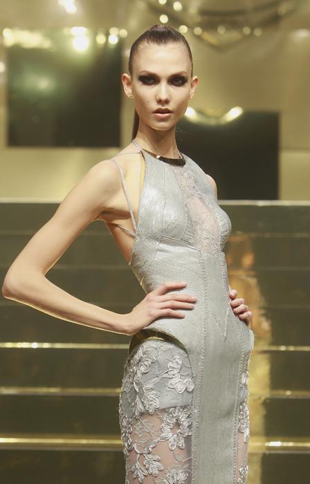Versace Atelier abito pizzo