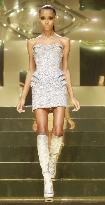 Versace Atelier minidress brillantini