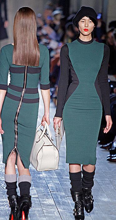 Victoria Beckham - abito con zip sulla schiena