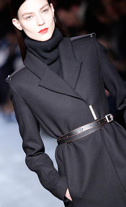 Victoria Beckham - cappotto con cinta alla vita