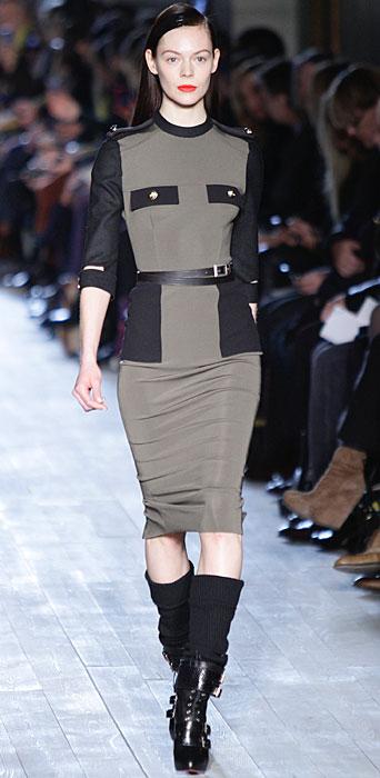 Victoria Beckham - completo con gonna longuette