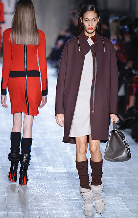 Victoria Beckham - cappotto color prugna