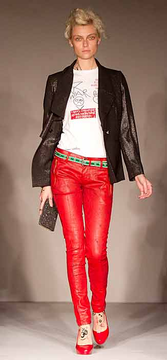 Vivienne Westwood Red Label - pantalone rosso