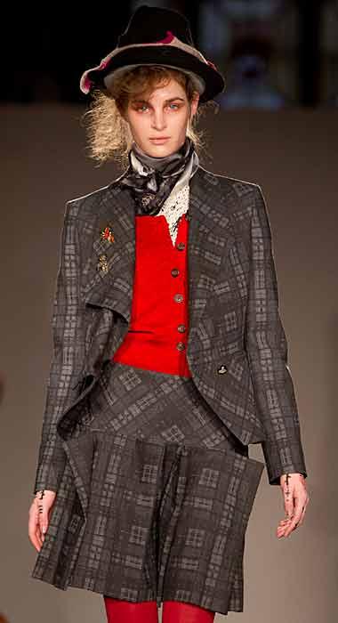 Vivienne Westwood Red Label - gonna scozzese