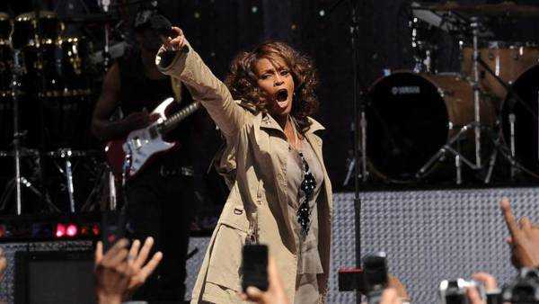Good Morning America: Whitney Houston canta a Central Park