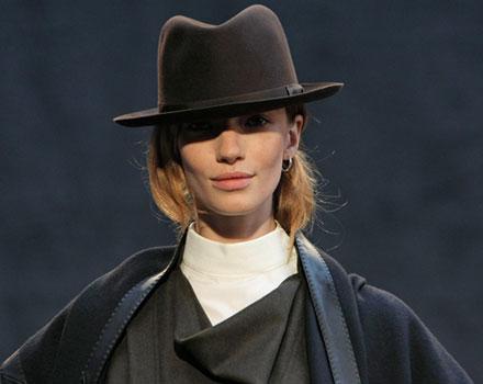 Hermès 2012 2013 - cappello marrone