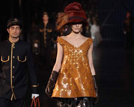 Louis Vuitton 2012 2013 - guanti marroni