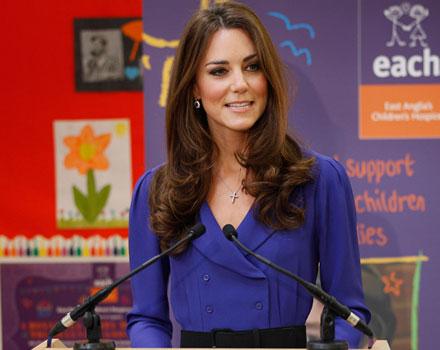 Kate Middleton - abito blu