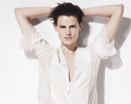 Zara donna - camicia bianca