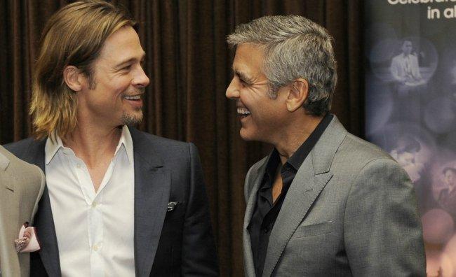Clooney e Pitt sponsor dei matrimoni gay