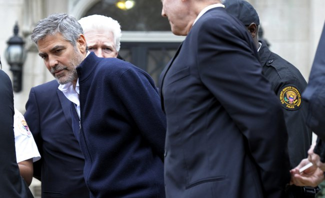 George Clooney arrestato a Washington