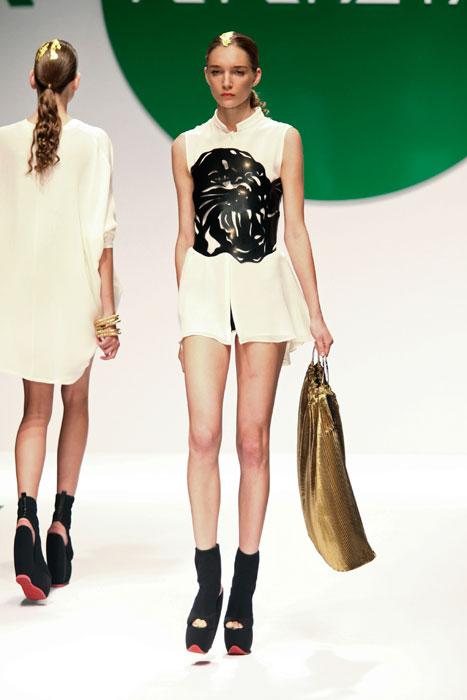 Mini abito bianco Krizia