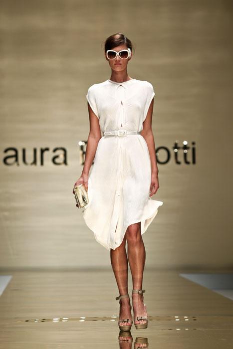 Abito bianco Laura Biagiotti